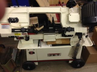 JET BAND SAW DISCOUNTED FLOOR MODEL