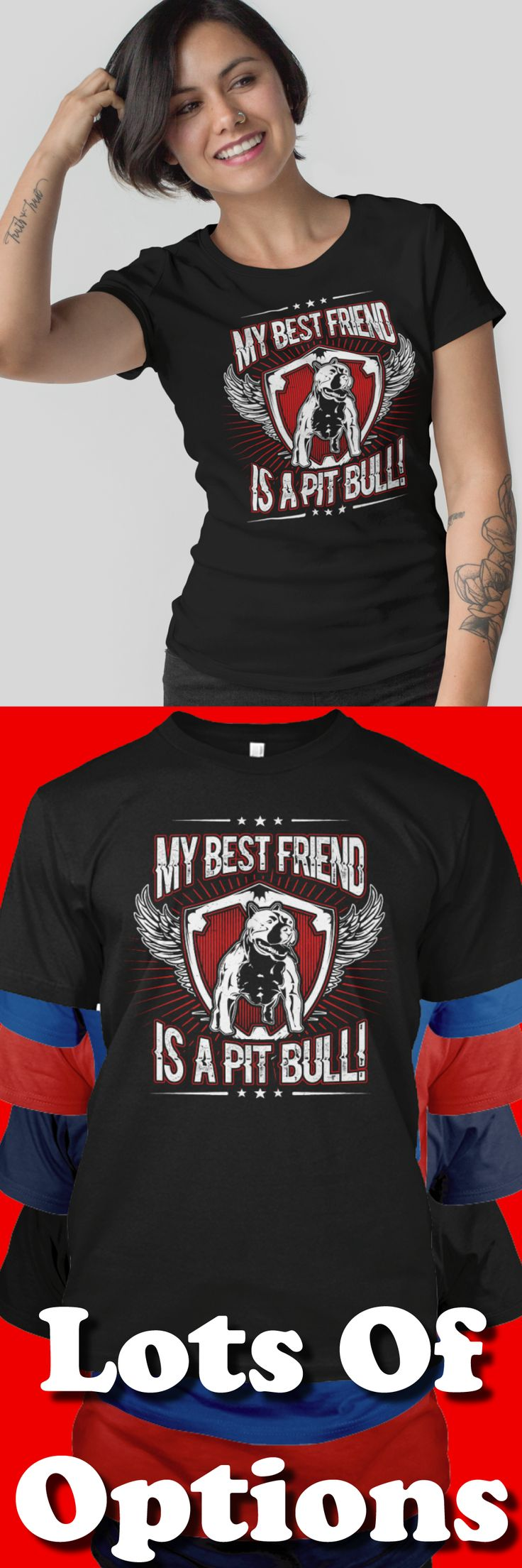 Pit Bull Shirt: Are You A Pit Bull Lover? Love Pit Bulls? Wear Pit Bull Shirts? Great Pit Bull Lovers Gift! Lots Of Sizes & Colors. Like Pit Bull, Pit Bull Mama, Is Your Pit Bull Family? Strict Limit Of 5 Shirts! Treat Yourself & Click Now! https://teespring.com/SP64-439
