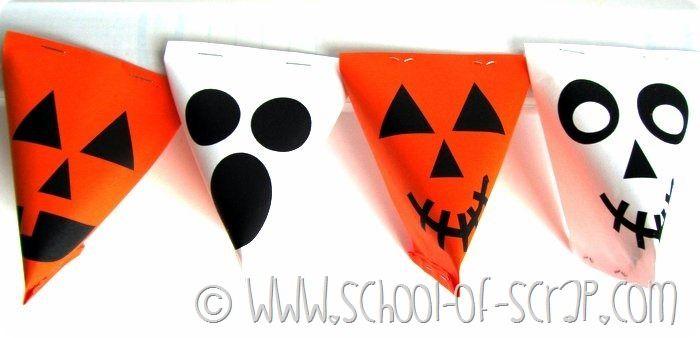 Halloween porta caramelle da stampare e costruire (8)
