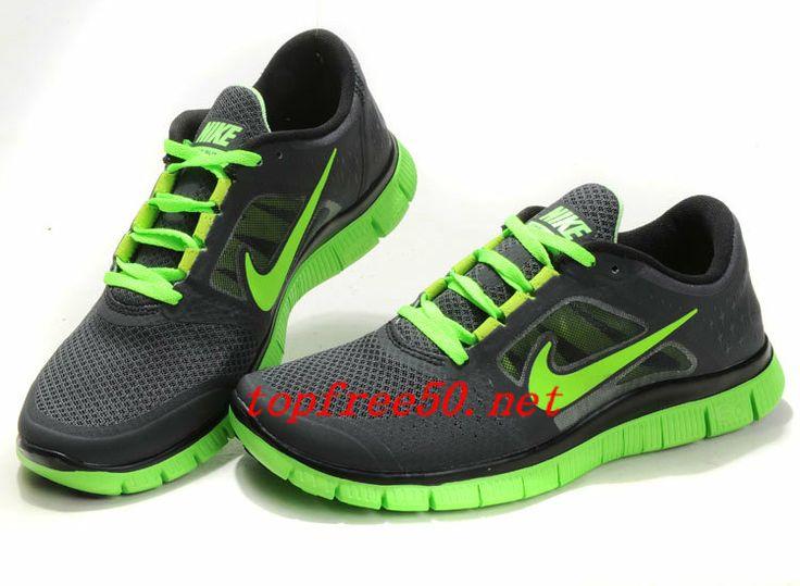 Nike Free Run 3 Mens Running Shoes Green