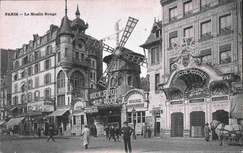Folie du Jour Bottle Cap Images: Moulin Rouge - Folies Bergère - Paris - Bottle Cap...