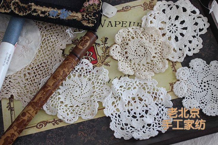 De 20 pçs/set de crochê Placemat chique gasto do olhar do Vintage Crocheted Doilies  Preço: US $9.99 / lote (20 itens / lote , US $ 0.38 / item ) Preço com desconto:US $7.49 / lote  25% off Somente por 4 dias Aproximadamente R$ 24,61 / lote  Expedição gratuita para Brazil via China Post Registered Air Mail   (Aproximadamente R$ 24,61)