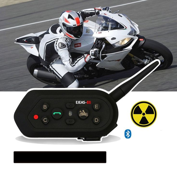 EJEAS E6 Smart Motorcycle Helmet Intercom BT Interphone Walkie Talkies - Free Shipping - DealExtreme