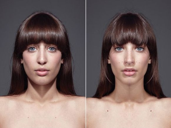PHOTOS: Are Perfectly Symmetrical Faces More Attractive?