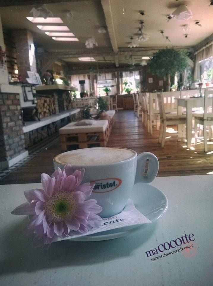 """I am a coffee fanatic. Once you go to proper coffee, you can't go back. You cannot go back. ~~Hugh Laurie!"" Bistro Ma Cocotte. Brasov. Motivational. Quote. Coffee. Interior."