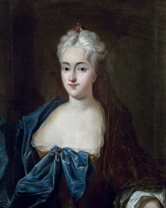 Anna Constantia von Brockdorff (17 October 1680 – 31 March 1765), later the Countess of Cosel, was a German noblewoman and mistress of Augustus the Strong, King of Poland and Elector of Saxony. Eventually he turned against her and exiled her to Saxony, where she died after 49 years of imprisonment.