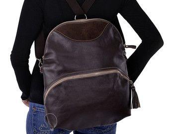 Vrouwen converteerbare tas, converteerbare messenger, vrouwen rugzak, crossbody tas, lederen schoudertas, lederen rugzak, leater vrouwen tas