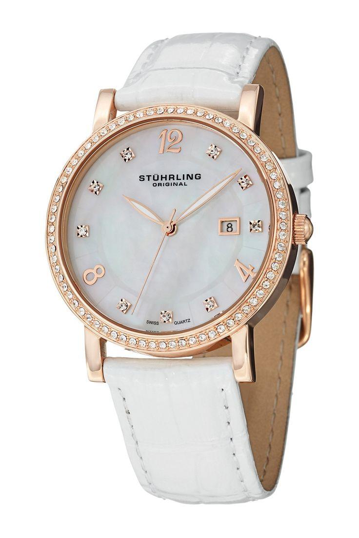 Stuhrling | Women's Lorraine Swiss Quartz Watch | Nordstrom Rack