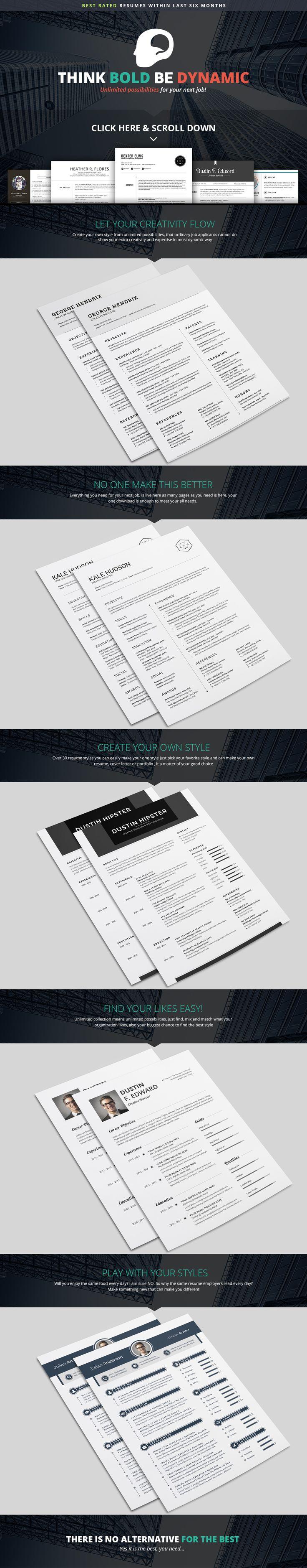 7 best Resumes images on Pinterest | Resume design, Resume templates ...