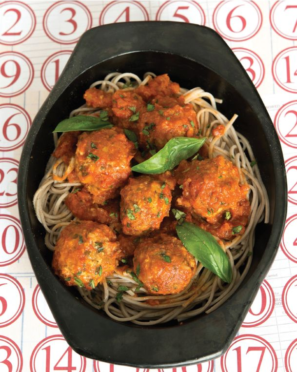 Spaghetti and 'meat' balls