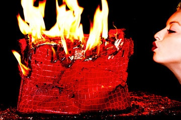 Tyler Shields and Francesca Eastwood Ignite Controversy By Burning $100K Birkin Bag - News and Pics - StyleBistro