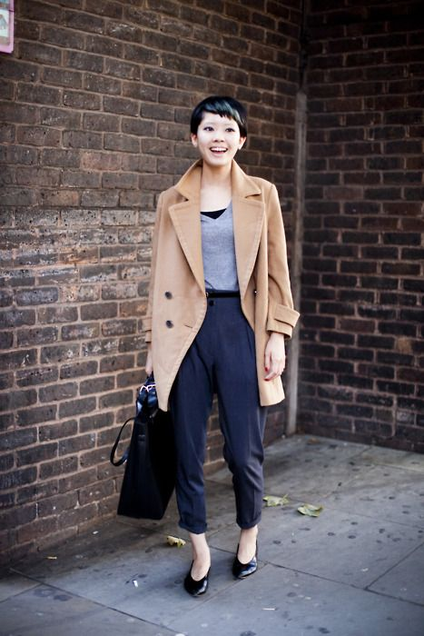 On the list: A good camel coat for fall