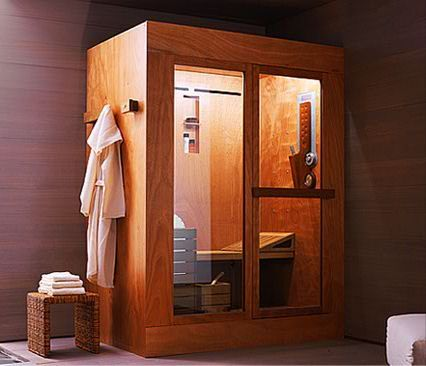 In a space no larger that a bathtub, Ideal Standard's Tris shower cabin- A three-in-one shower cabin