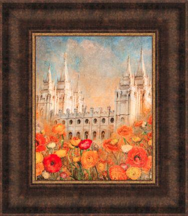"""Sweet Promises of God"" 13x15 Framed Art Deseret Book By Mandy Jane Williams"