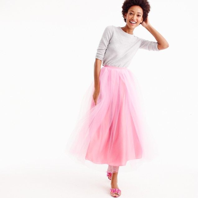 Pink tulle ball skirt. And it's such a great price!