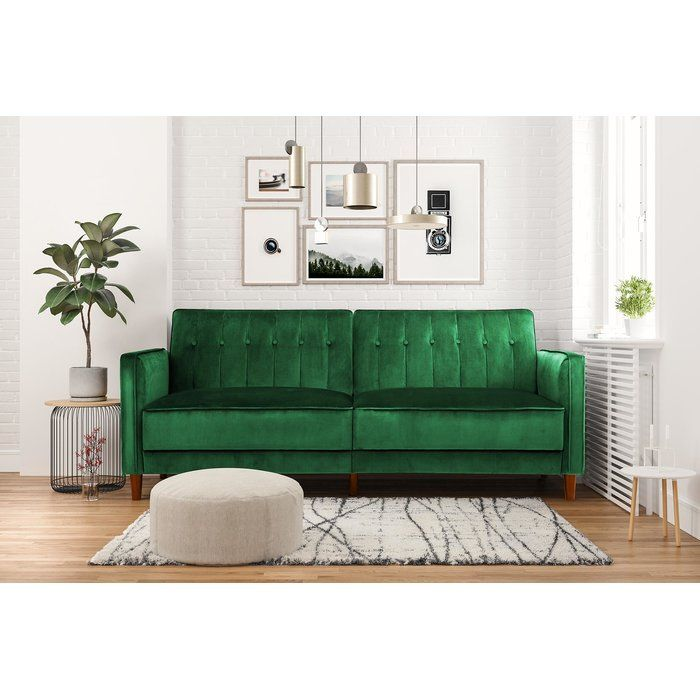 Hammondale Pin Tufted Convertible Sofa in 2019 | Living room ...