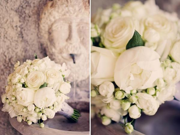букет невесты из белых роз  #wedding #flowers