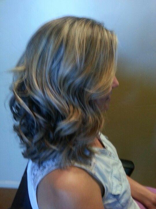 long curly bobs   via elizabeth williams