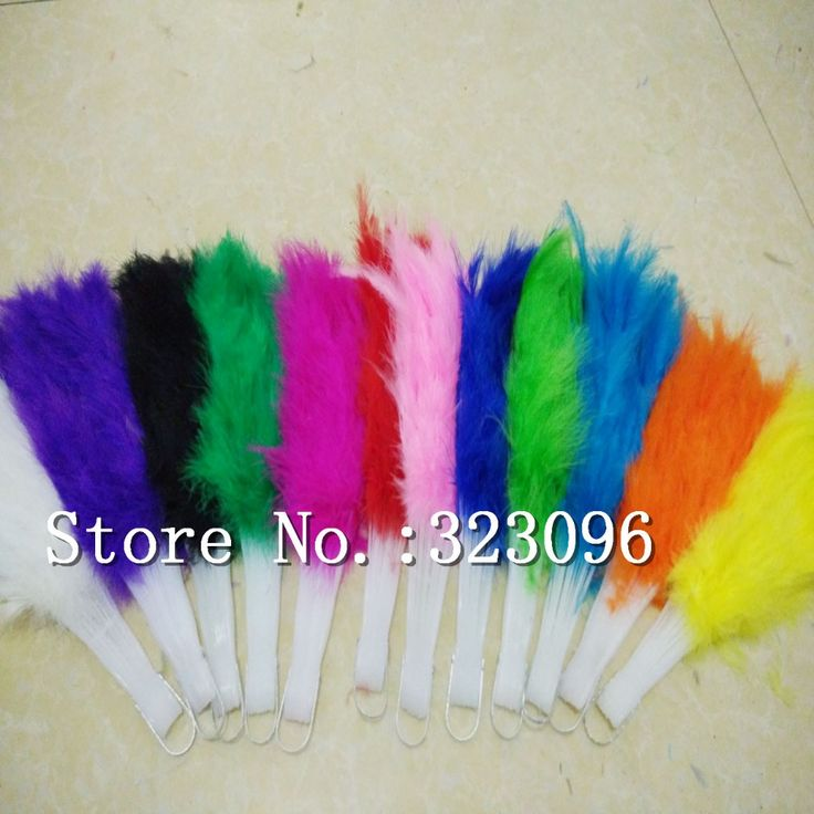 Wholesale 12pcs/lot Soft Fluffy Wedding Hand Fan goose feather fan Dress Costume Dance props 12 colors available