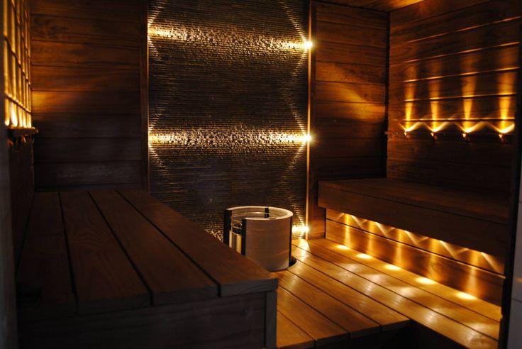 Saunan valaistus LED-valoilla | LED-valot.fi