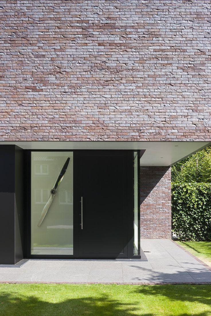 Interieurfoto's en architectuurfoto's van een moderne woning ontworpen door architect Egide Meertens. © foto's Liesbet Goetschalckx