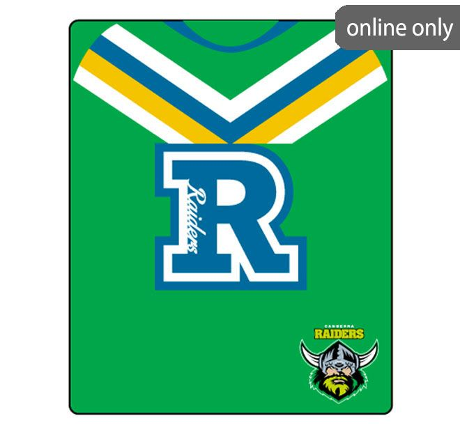nrl-team-logo-polar-fleece-printed-155x127cm-throw-canberra-raiders