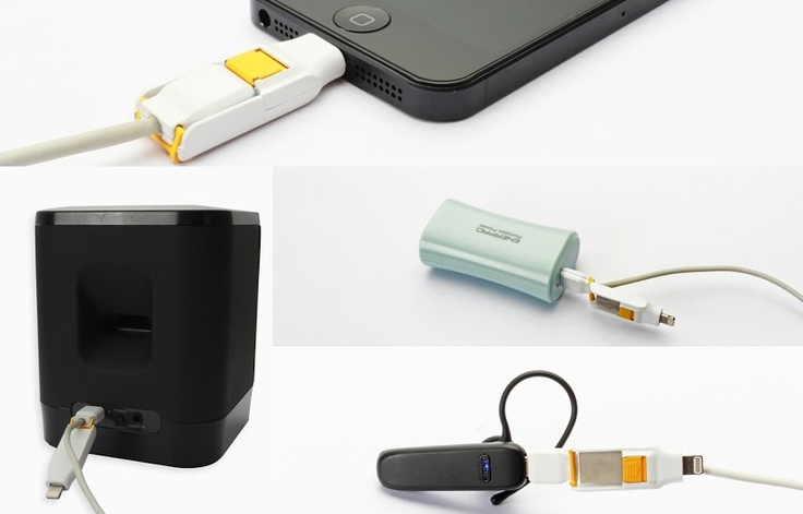 Ingenious Apple lightning and microusb cable