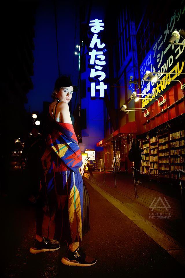 kimono traditional combined with modern style, Y-3 Yoji yamamoto and adidas OSAKA Japanese style street style