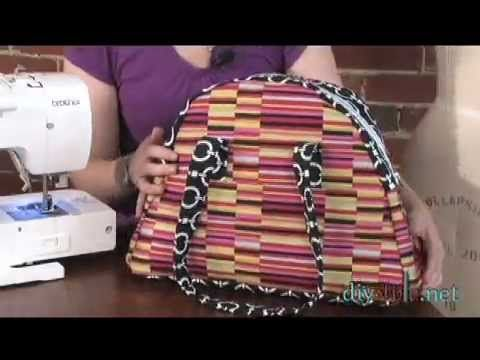 Sew the Bowled Over Travel Bag - Free PDF + Video Tutorial