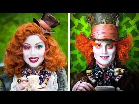 Tim Burton Halloween Makeup Tutorials | POPSUGAR Beauty