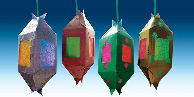 Handmade Ramadan lanterns (Fanooz, or Fanous) these quick and easy crafts are a great eid project.