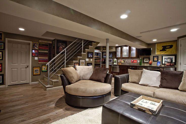 Ravinia west lafayette basement remodel 2 design for Western basement ideas