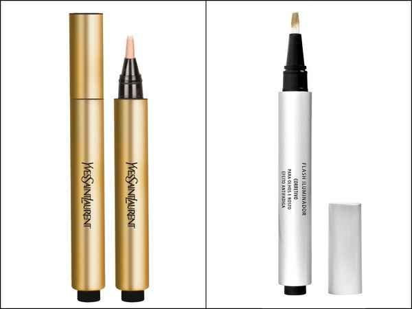 Praticidade + cara de acordada = iluminador em caneta