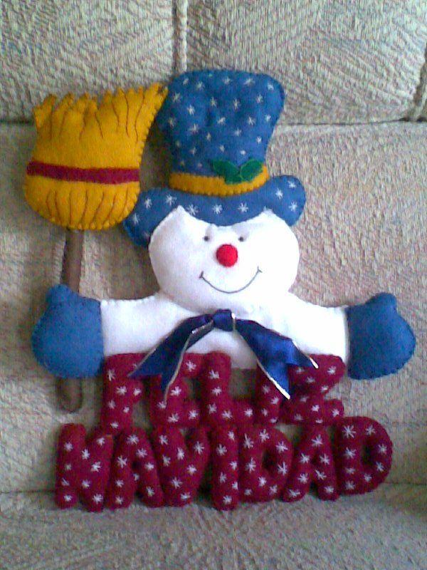 otro de los primeros, un muñeco de nieve