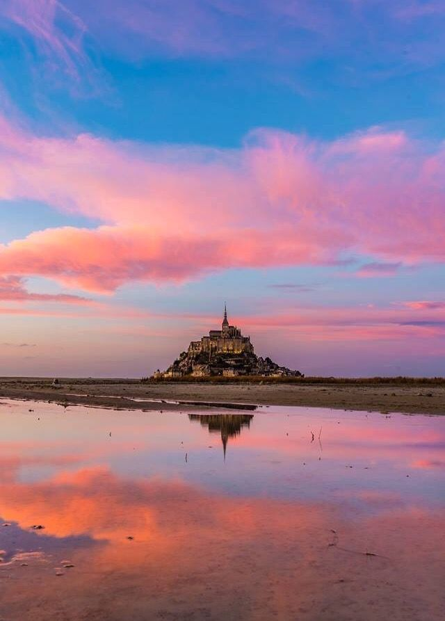 Le Mont Saint Michel, quelle beauté ❤️