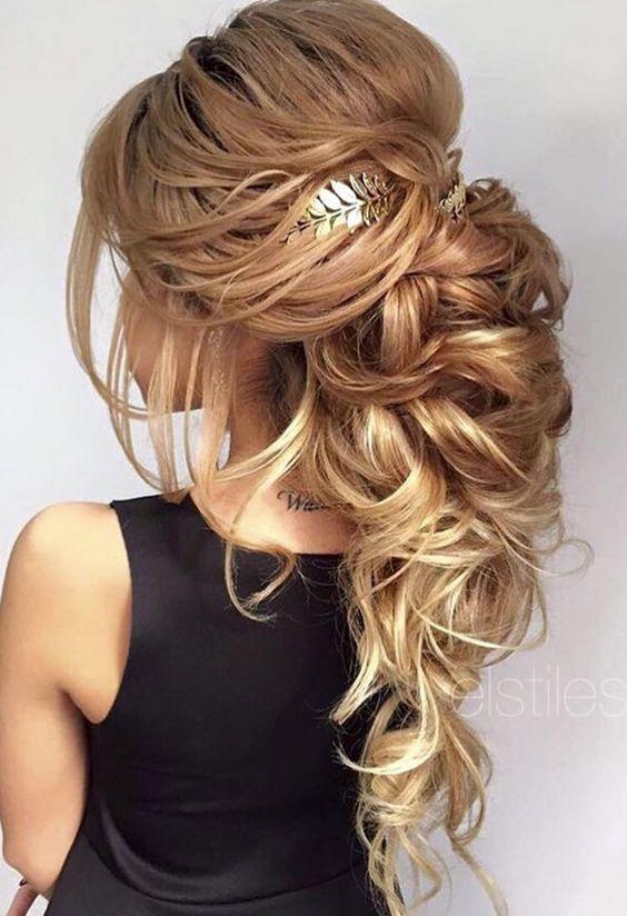 Fabulous 1000 Ideas About Messy Wedding Hairstyles On Pinterest Wedding Short Hairstyles For Black Women Fulllsitofus