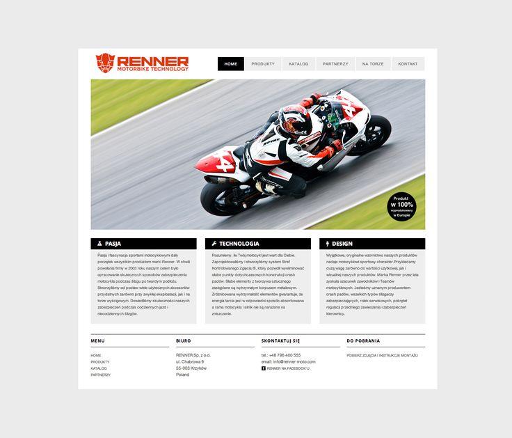 renner motorbikes - Brodziak Studio - Projektowanie graficzne   Grafik Freelancer Web Designer Portfolio Wrocław