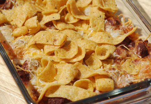 frito chili pie - easy dinner!!!