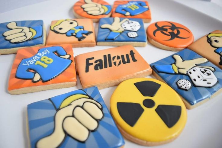 Fallout 4 Vault Boy Birthday Cookie Inspiration