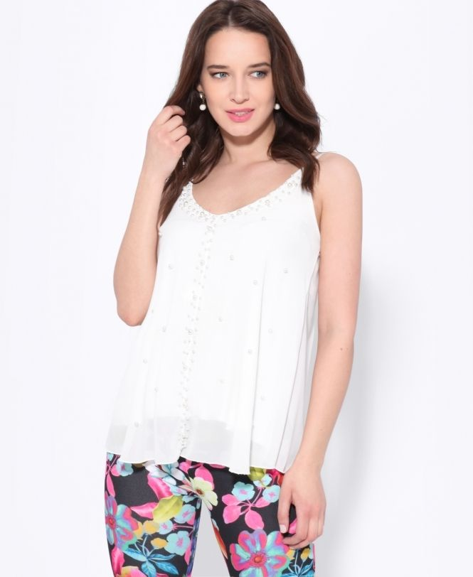 6ecff3eb3ae Pearl Spotted Chiffon Swing Top £16.99 Swing form has become a firm  favourite among hot