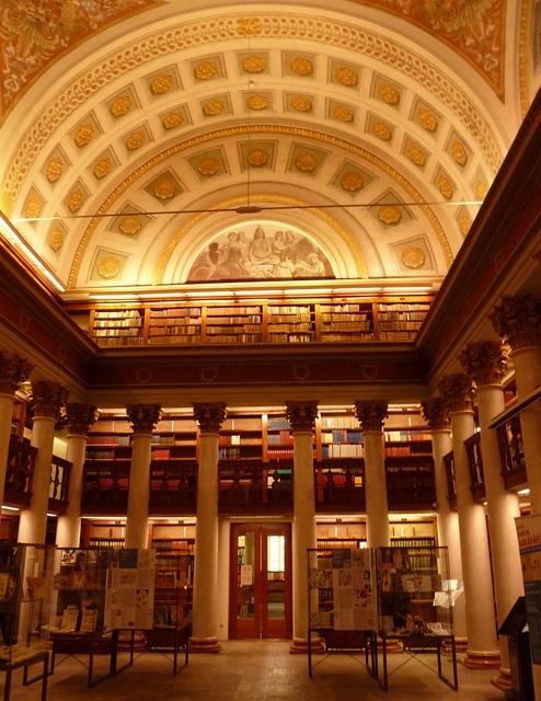 HELSINKI NATIONAL LIBRARY in FINLAND