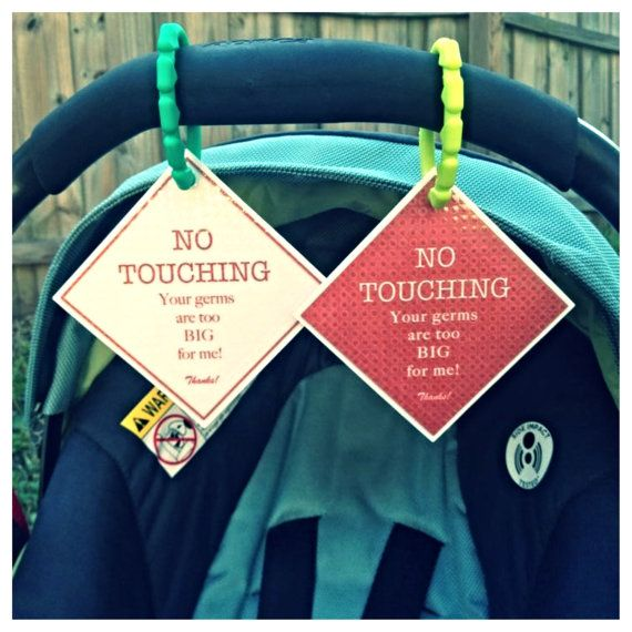 Preemie Newborn Infant Set Of Car Seat Signs Baby Boy