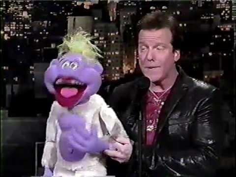 Jeff Dunham and Peanut on David Letterman