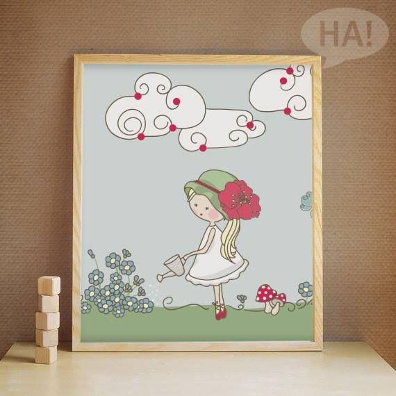 Καδράκια για το παιδικό δωμάτιο!  Πίνακας σε καμβά: http://www.houseart.gr/select_use.php?id=80&pid=10953  #houseart #canvas #kids_room #decoration #happy #girl #pink