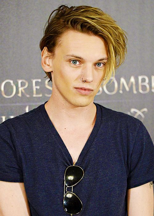 Jamie Campbell Bower...Jace in The Mortal Instruments