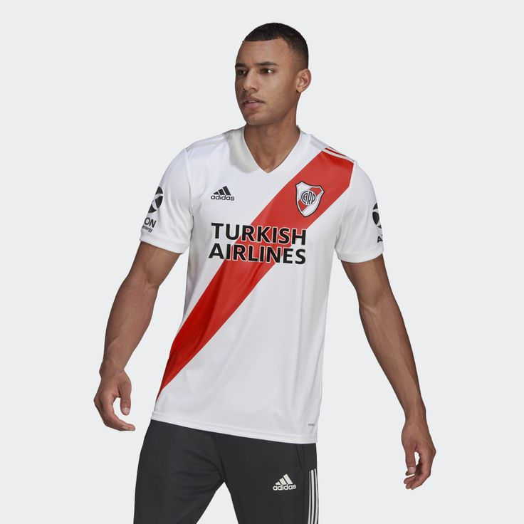 River Plate 20/21 Home Jersey White Mens in 2021 | Adidas, Mens ...