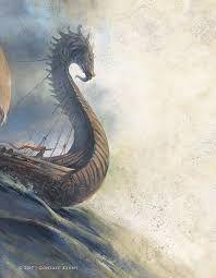 barco dragon.  Los Boreos