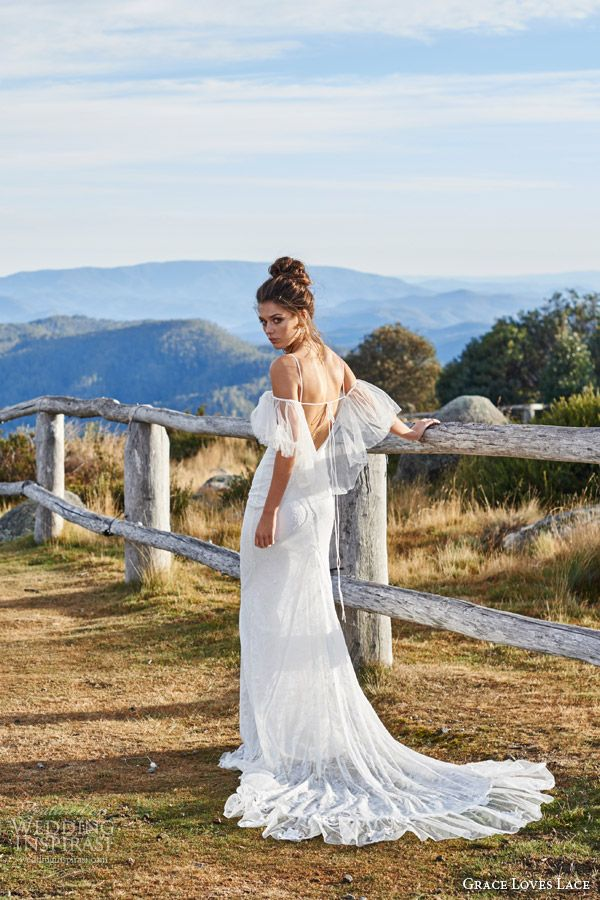 Grace Loves Lace Wedding Dresses — Untamed Romance Bridal Shoot | Wedding Inspirasi