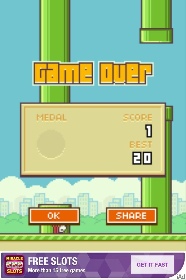 Danget flappy bird!