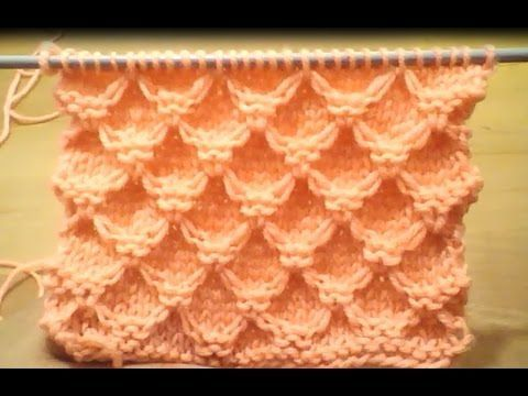 TUTO TRICOT APPRENDRE A TRICOTER LE POINT DE PETITE CLOTURE ; POINT DE TRICOT FANTAISIE FACILE !!! - YouTube